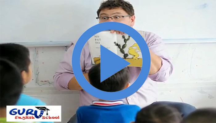 คลาสภาษาอังกฤษสำหรับเด็กอนุบาล เรียนรู้จากศัพท์ง่ายๆ เพื่อเพิ่มการจดจำ Guru English School