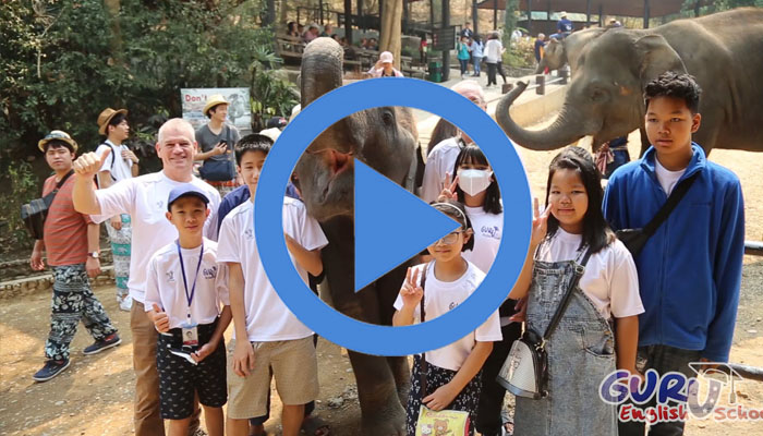 กิจกรรม Elephant Camp with Guru English School 2019